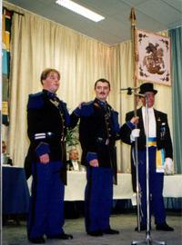 Deux tambours prêtent serment
