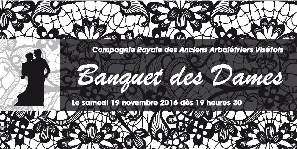 Banquet des Dames 2016 – 19 novembre à 19h30 🗓 🗺