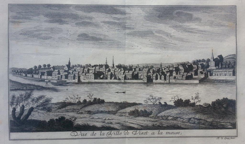 Gravure Vise 1744
