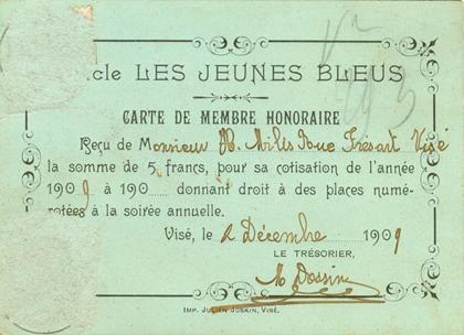 En 1922, création de la Commission de Tir.