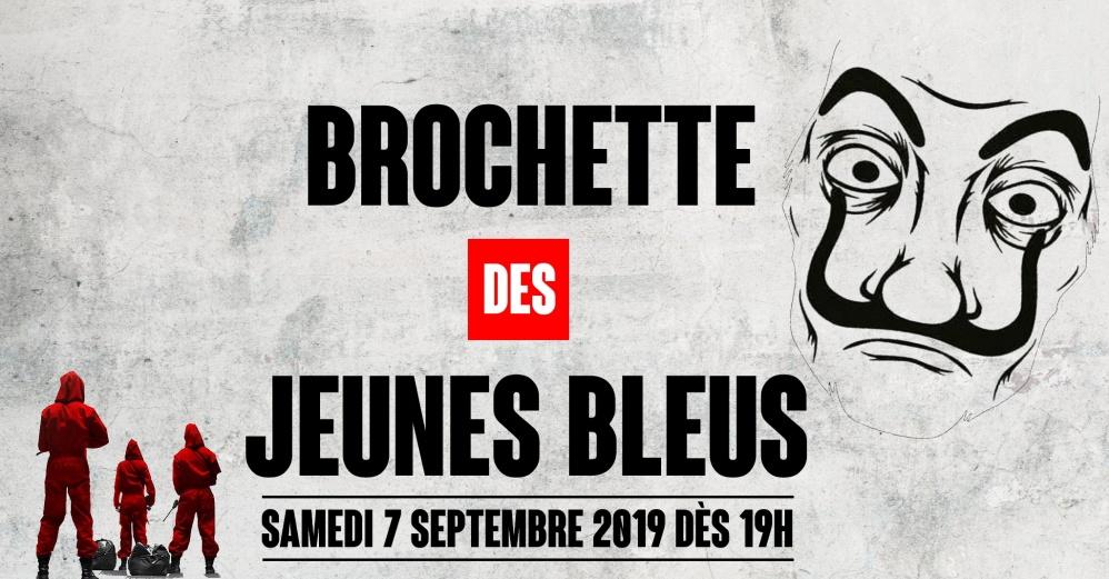 Brochette 2019 – 7 septembre 2019 à 19h 🗓 🗺