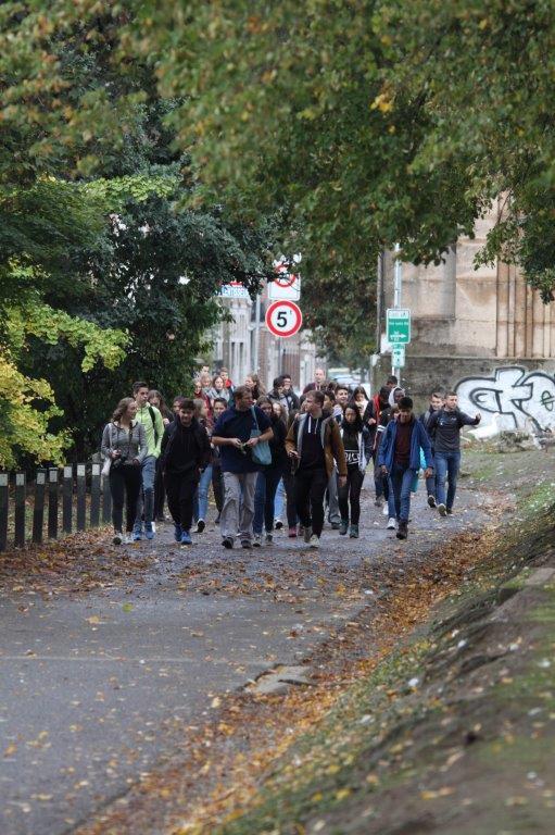 Marche parrainée du Collège Saint-Hadelin 🗓 🗺